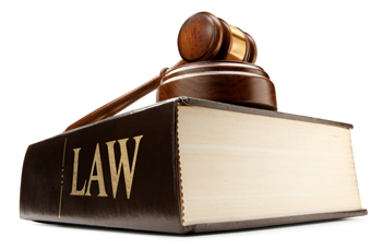 image of law book